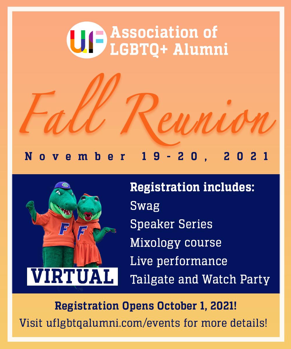 UF LGBTQ+ 2021 Fall Reunion